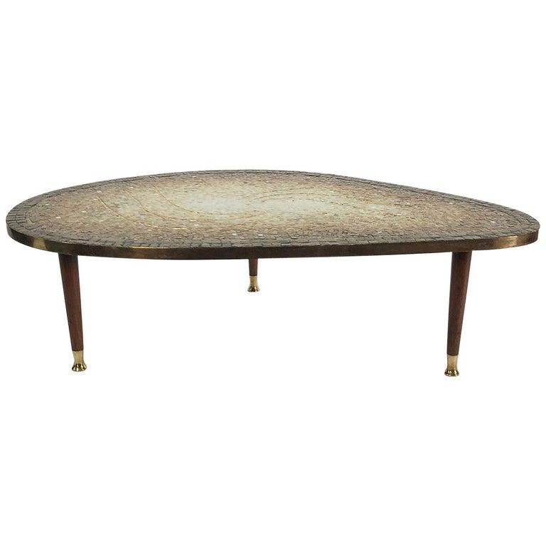 Coffee Table by Genaro Alvarez For Sale
