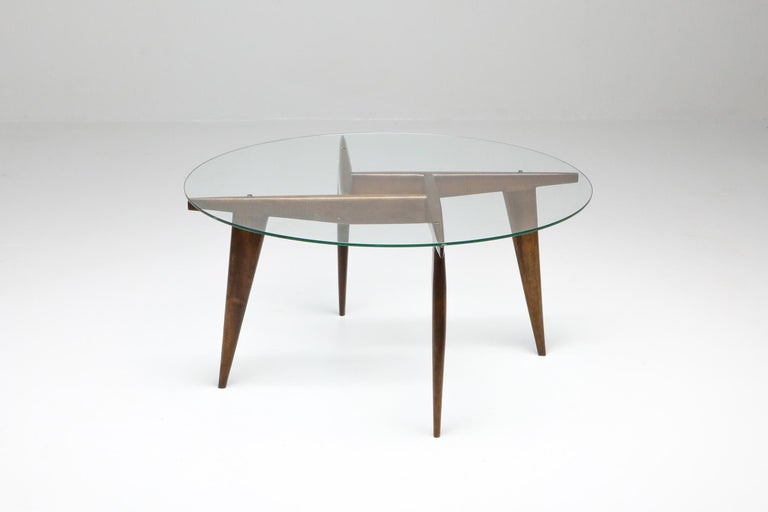 Mid-Century Modern Gio Ponti Coffee Table for Singer & Sons For Sale
