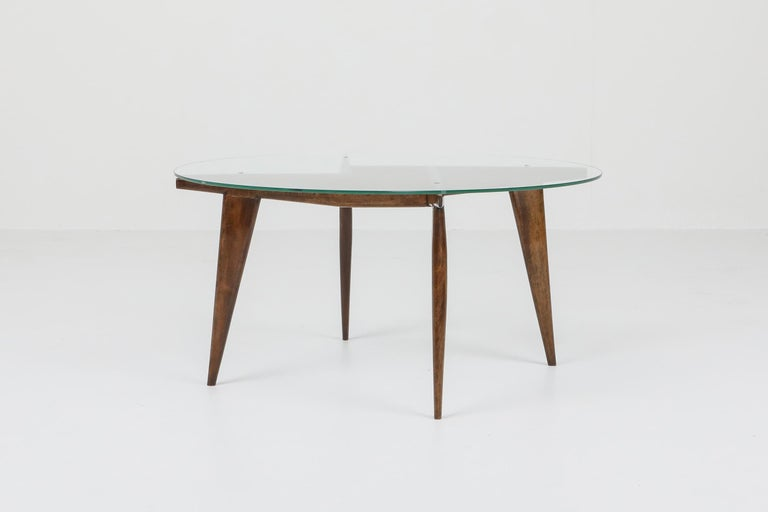 Italian Gio Ponti Coffee Table for Singer & Sons For Sale