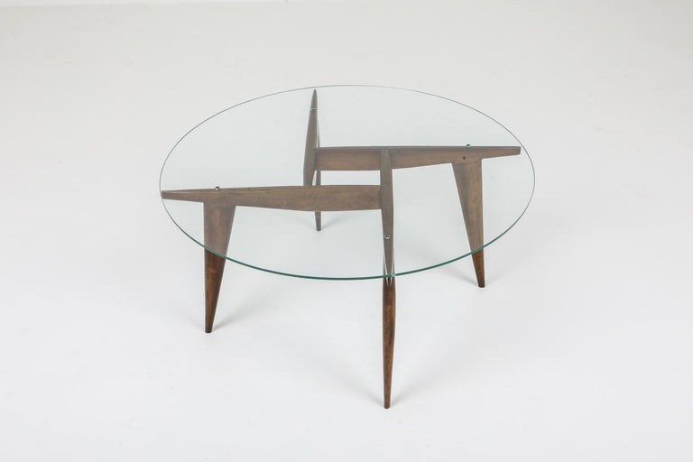 Gio Ponti Coffee Table for Singer & Sons In Good Condition For Sale In Antwerp, BE