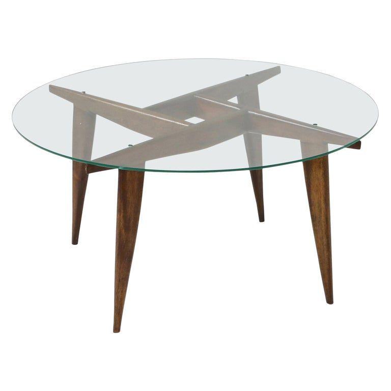 Gio Ponti Coffee Table for Singer & Sons For Sale