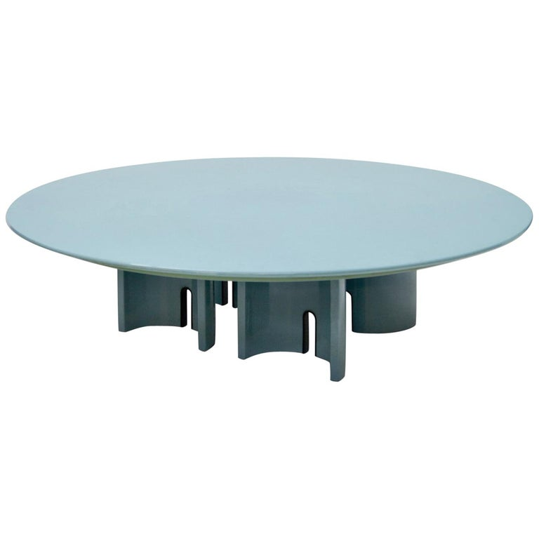 Coffee Table by Giovanni Offredi for Saporiti, Italy, 1980s