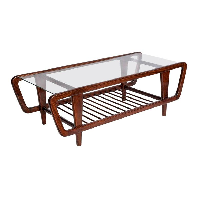 Coffee Table by Giuseppe Scapinelli, Brazilian Mid-Century Modern Design