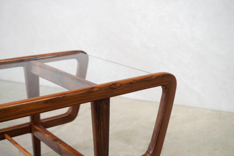 20th Century Coffee Table by Giuseppe Scapinelli, Brazilian Mid Century ModernDesign For Sale