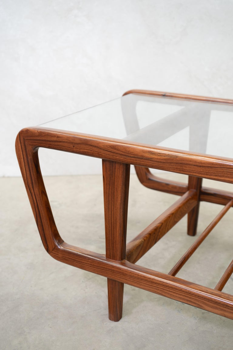 Coffee Table by Giuseppe Scapinelli, Brazilian Mid Century ModernDesign For Sale 1