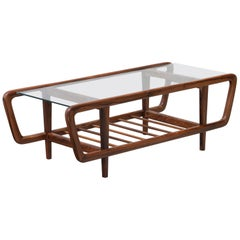 Coffee Table by Giuseppe Scapinelli, Brazilian Mid Century ModernDesign