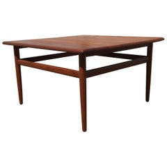 Danish Coffee Table by Grethe Jalk, 1950s