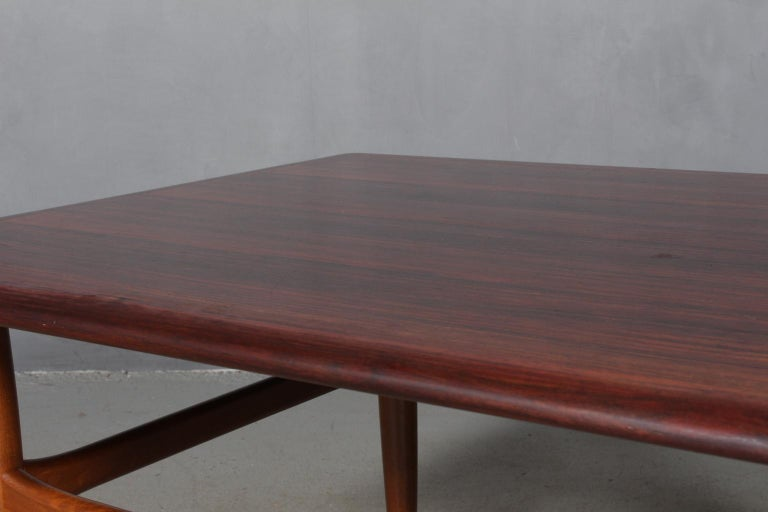 Coffee Table by Kurt Østervig for Jason Møbler In Good Condition For Sale In Esbjerg, DK