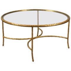 Coffee Table by Maison Bagues, France, 1950s