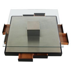 Coffee Table by Marco Fantoni for Tecno 1971