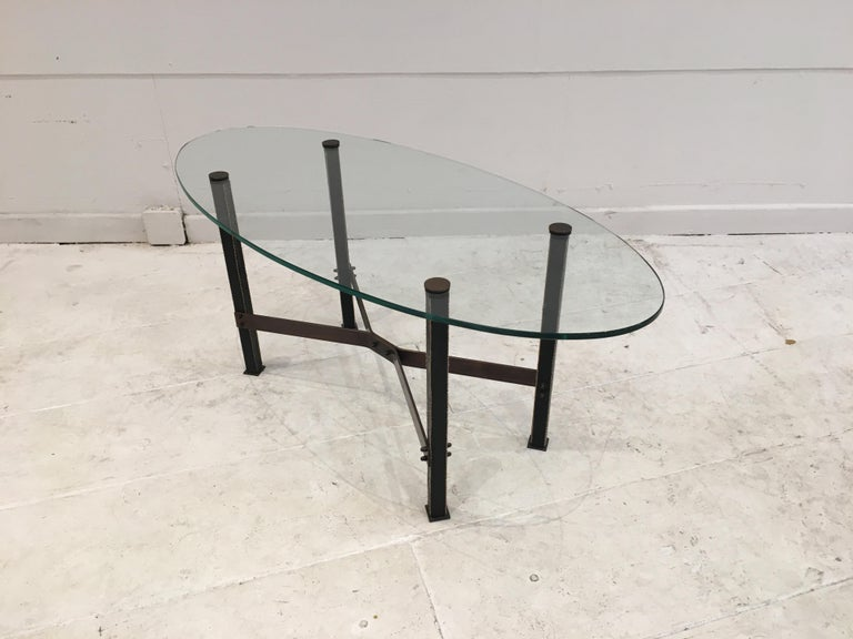 Mid-Century Modern Coffee Table by Mathieu Matégot For Sale