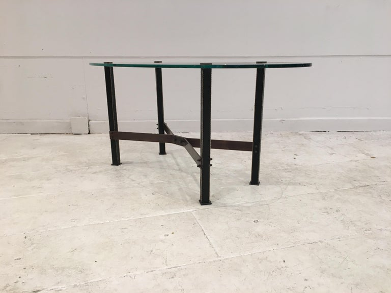 French Coffee Table by Mathieu Matégot For Sale