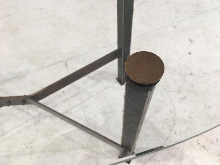 Brass Coffee Table by Mathieu Matégot For Sale