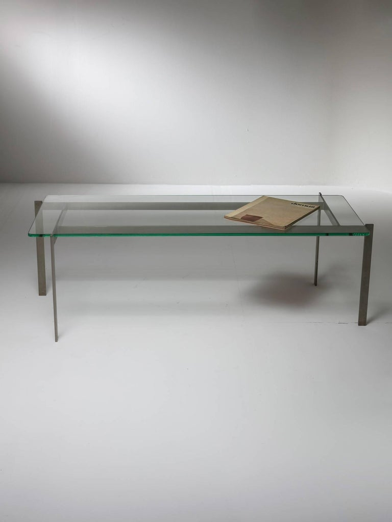 Italian Coffee Table by Paolo Tilche for Arform For Sale