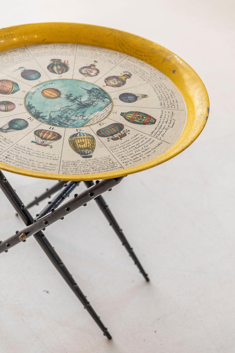 Mid-Century Modern Coffee Table by Piero Fornasetti For Sale