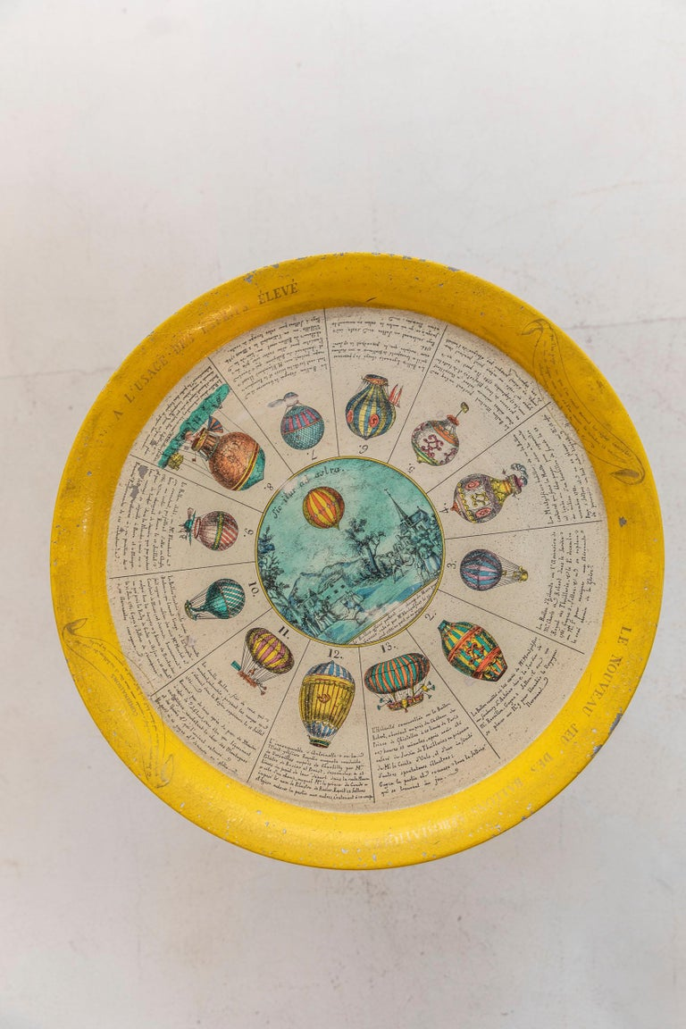 Italian Coffee Table by Piero Fornasetti For Sale