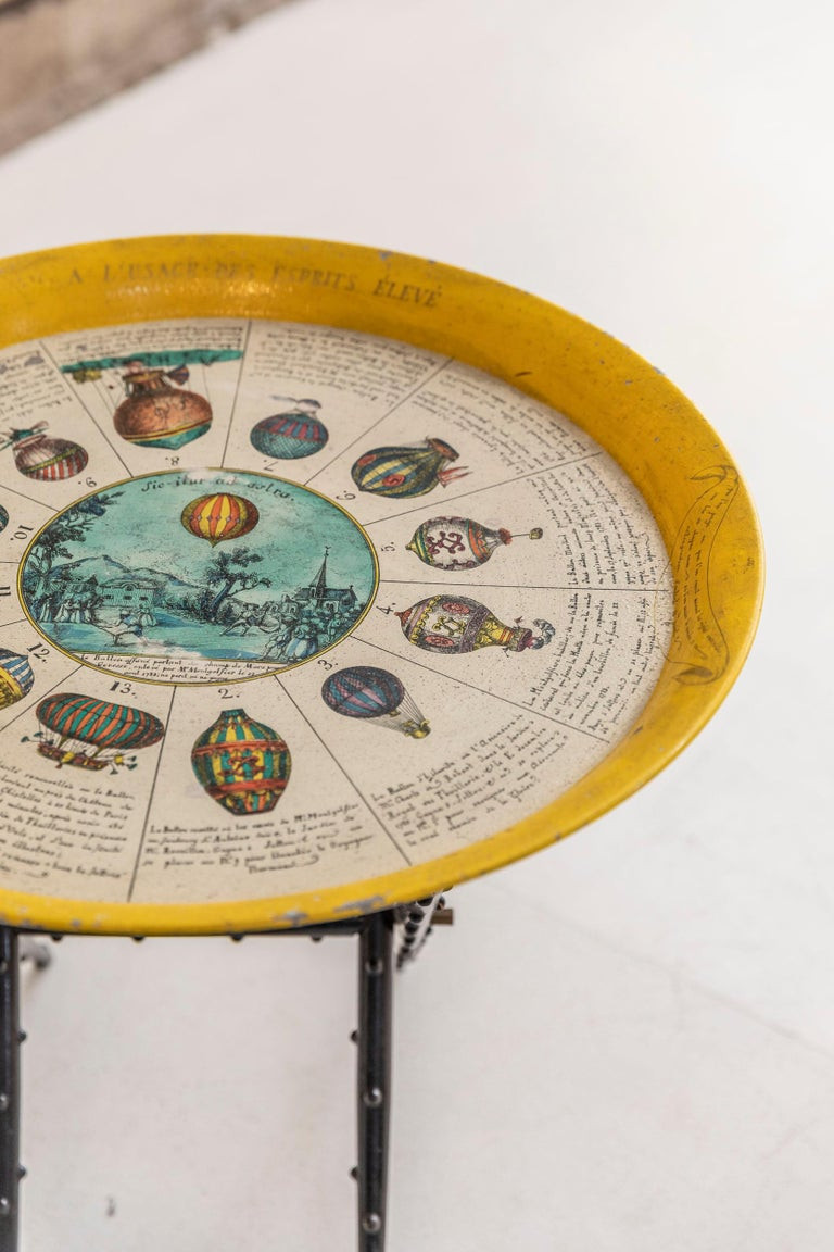 Coffee Table by Piero Fornasetti In Excellent Condition For Sale In Carpaneto Piacentino, Italy