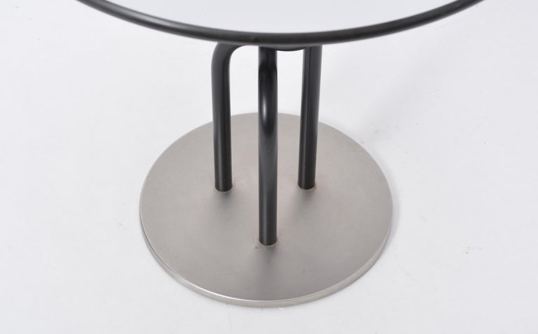 20th Century Danish Post-Modern side table by Rud Thygesen and Johnny Sorensen for Botium