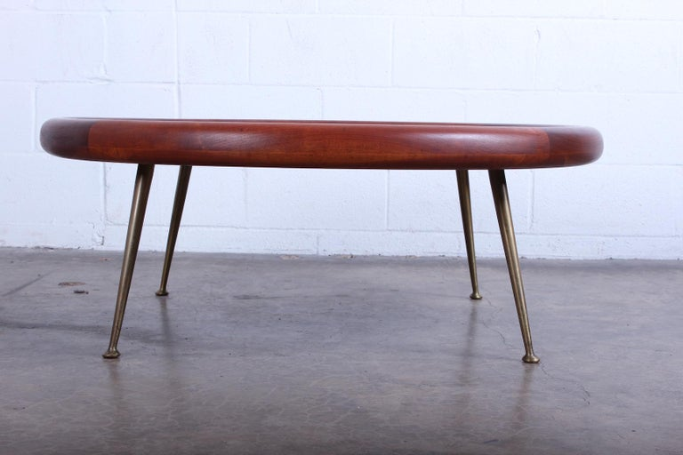Coffee Table by T.H. Robsjohn-Gibbings for Widdicomb In Good Condition For Sale In Dallas, TX