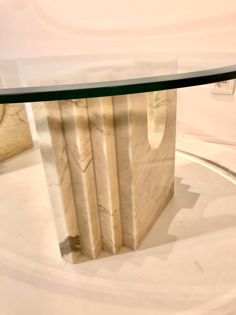 Coffee Table Attributed to Tobia Scarpa In Excellent Condition For Sale In Brussels, BE