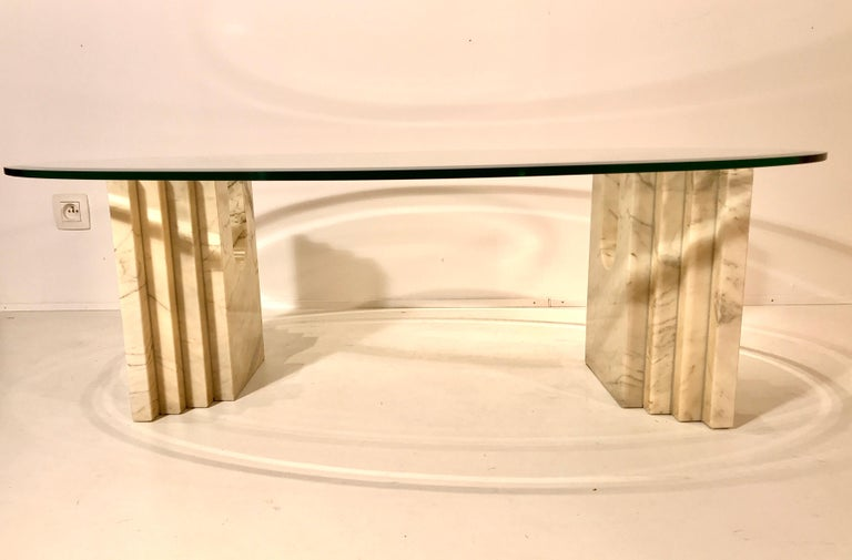 Coffee Table Attributed to Tobia Scarpa For Sale 2