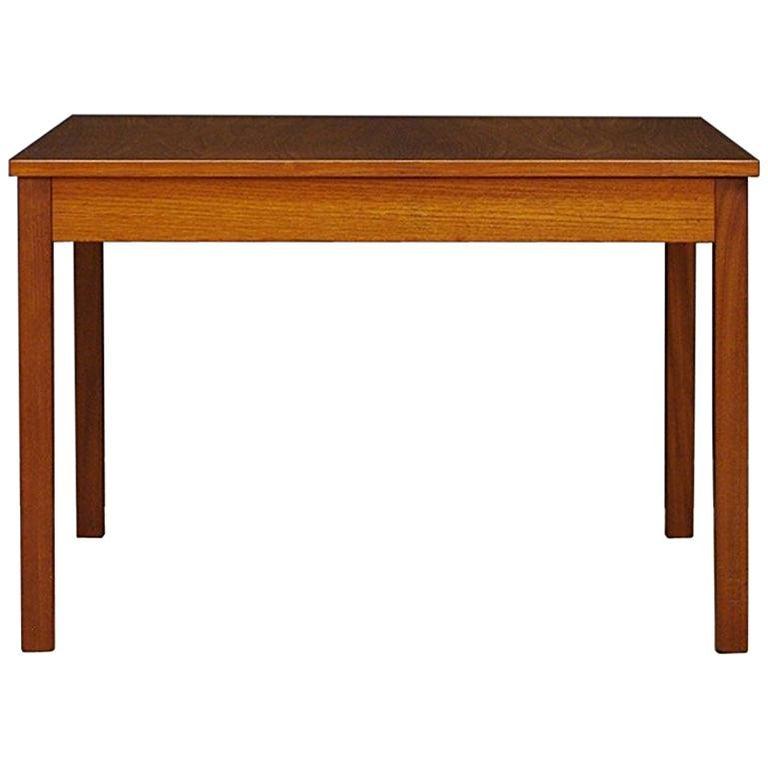 Coffee Table Danish Design 1960-1970 Classic Teak For Sale