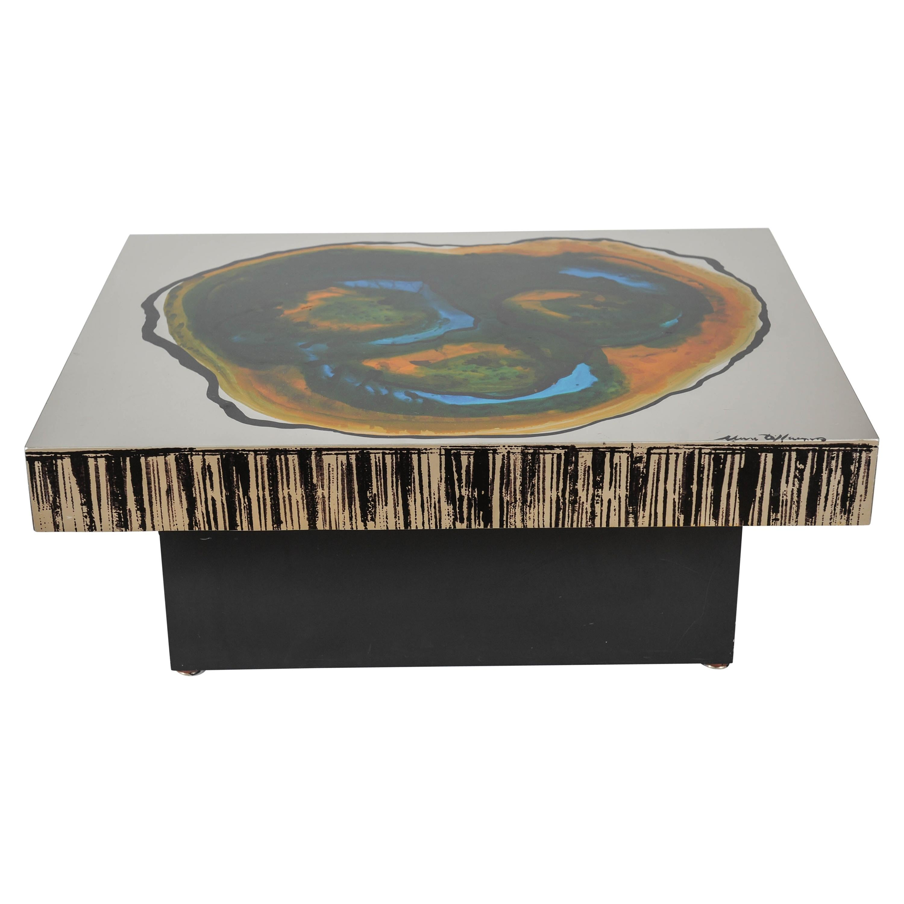 Coffee Table Designed and Made by Marc d'Haenens