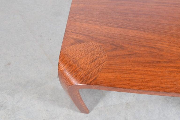 Coffee Table Designed by Saburo Inui for Tendo Mokko, Japan, circa 1960 For Sale 3