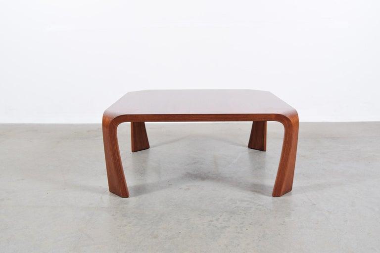 Coffee Table Designed by Saburo Inui for Tendo Mokko, Japan, circa 1960 For Sale 4