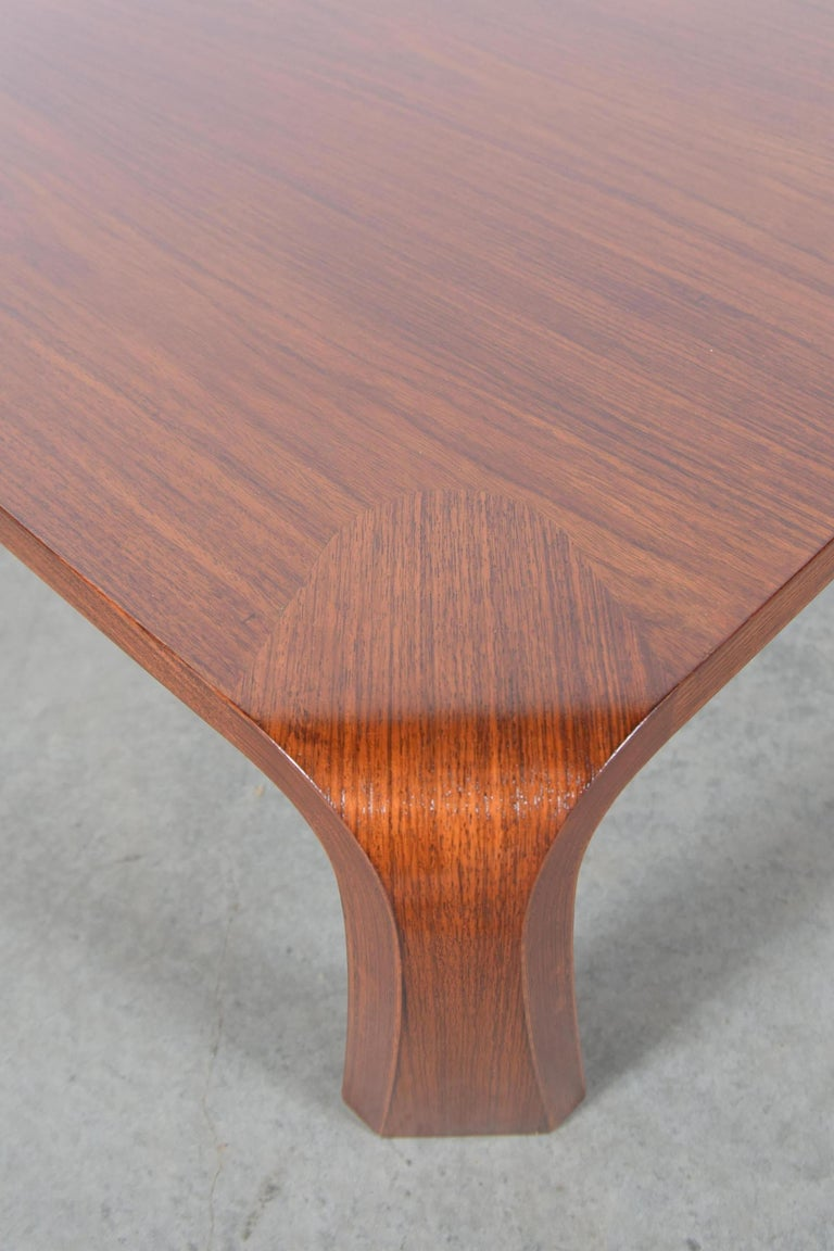 Coffee Table Designed by Saburo Inui for Tendo Mokko, Japan, circa 1960 For Sale 6