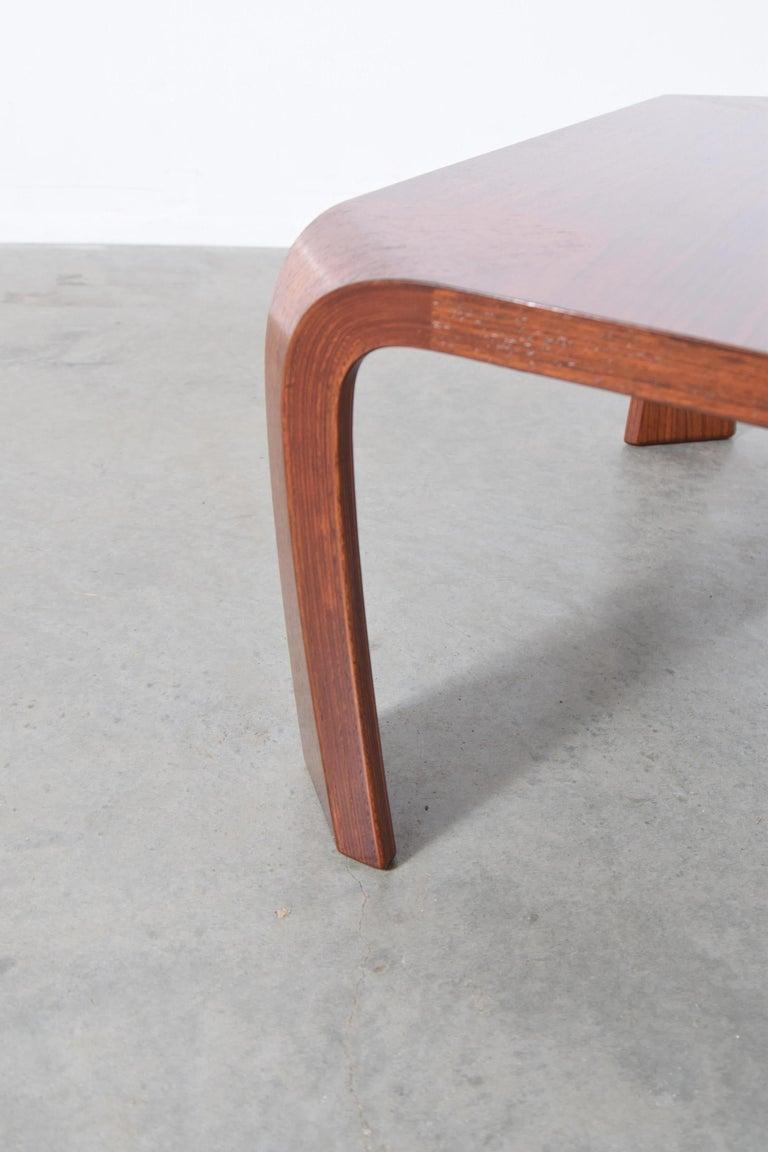 Coffee Table Designed by Saburo Inui for Tendo Mokko, Japan, circa 1960 In Good Condition For Sale In Providence, RI