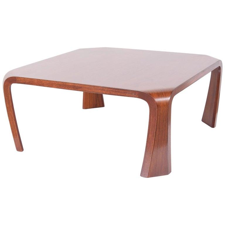Coffee Table Designed by Saburo Inui for Tendo Mokko, Japan, circa 1960 For Sale