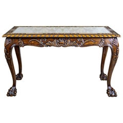 Coffee Table from the Interwar Period in the Chippendale Type