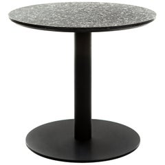 Coffee Table 'I' in Black Terrazzo