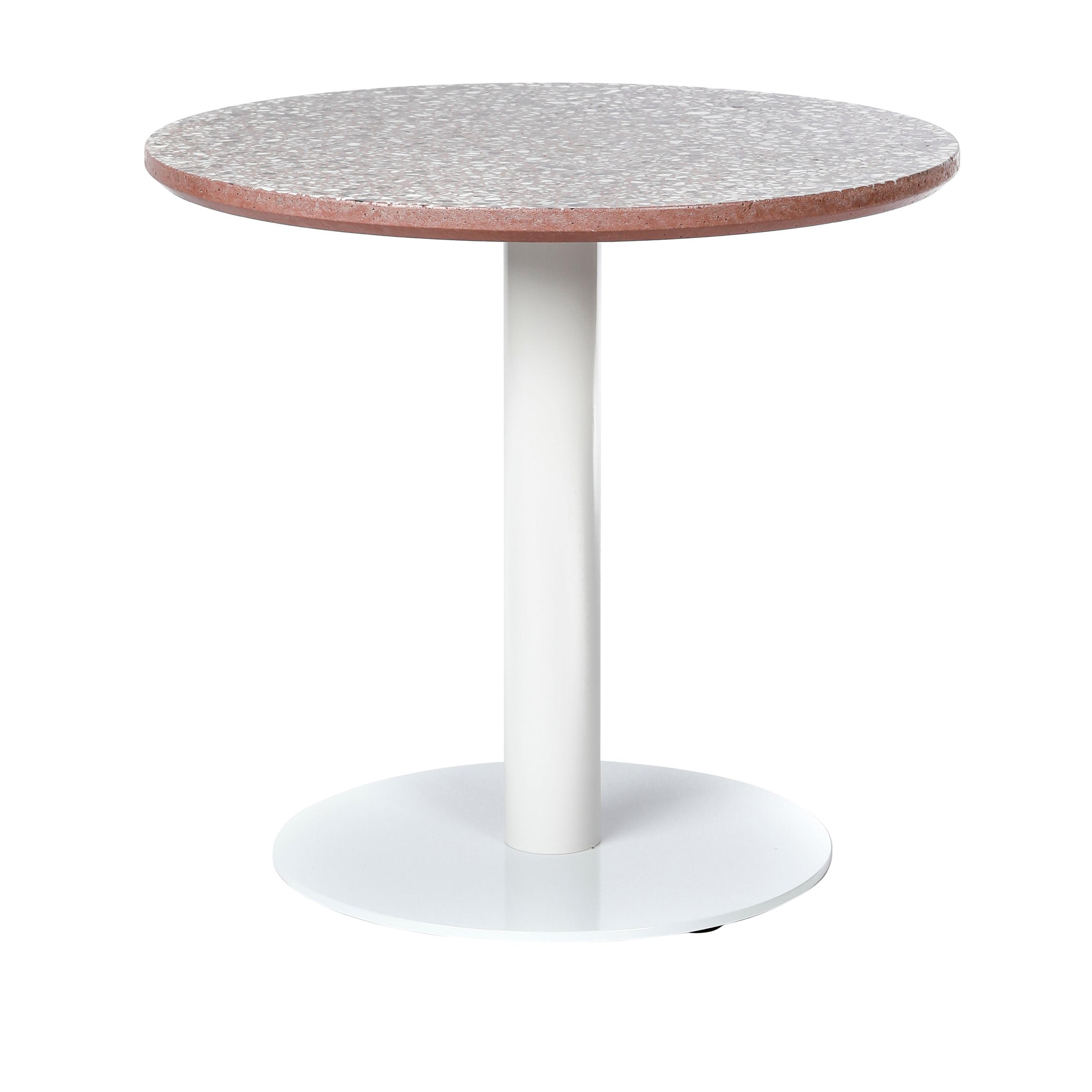 Coffee Table 'I' in Red Terrazzo