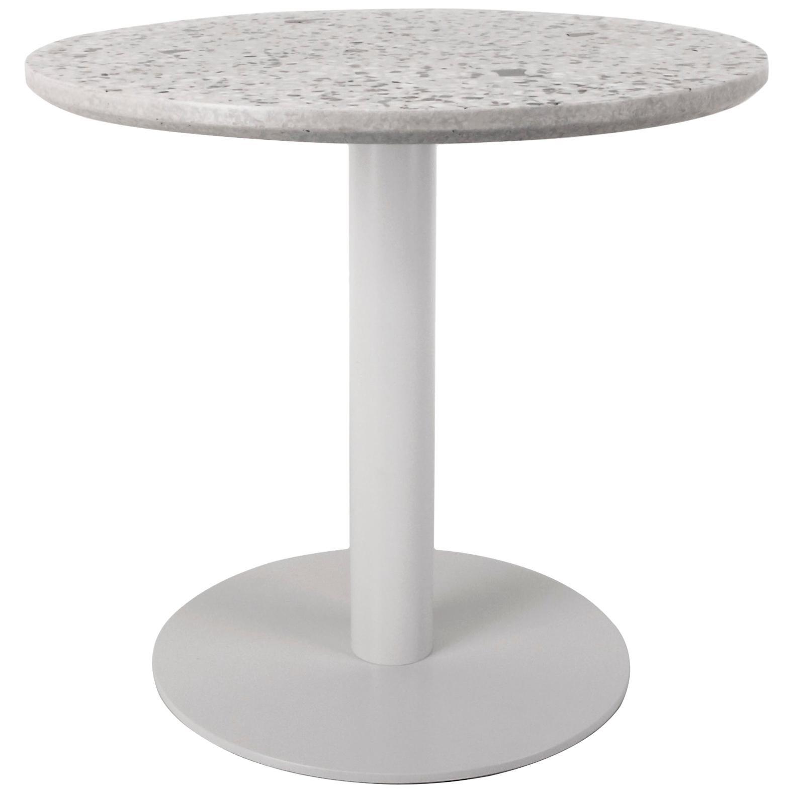 Coffee Table 'I' in White Terrazzo