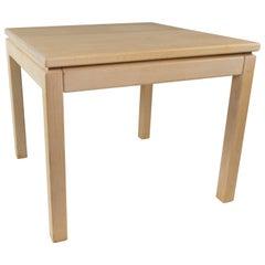 Coffee Table in Beech of Danish Design Manufactured by Brødrene Andersen, 1960s