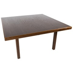 Coffee Table in Dark Oak of Danish Design from the 1960s