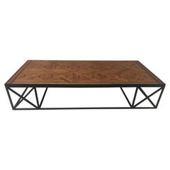 Coffee Table in French Parquetry