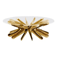 Coffee Table in Lacquered Copper 'Limited Edition', Zieta