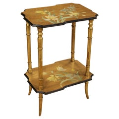 Coffee Table in Lacquered, Gilded and Painted Wood, 20th Century