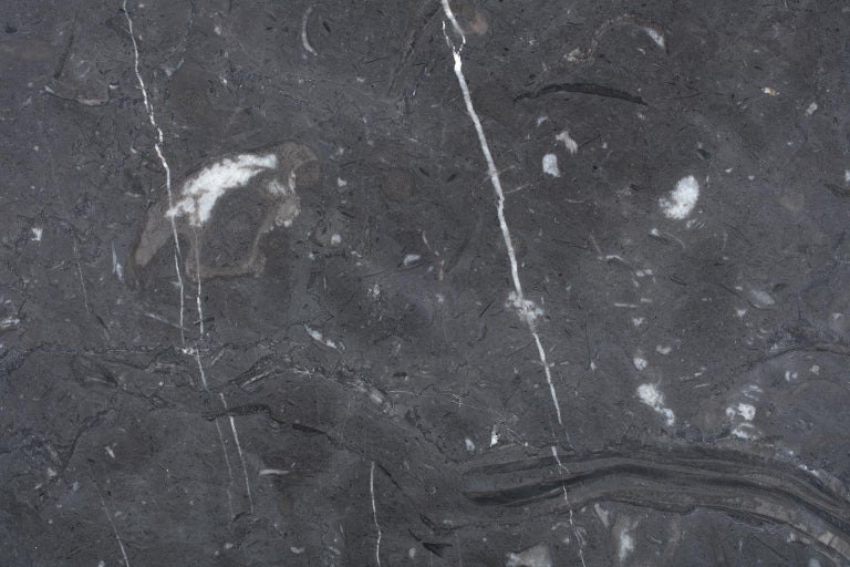 Coffee Table in Nero Marquina Marble by Ivan Colominas, Italy For Sale 1