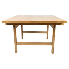 Coffee Table in Oak Designed by Hans J. Werner and Manufactured by PP Furniture