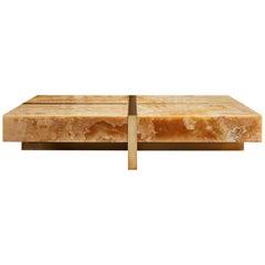 Coffee Table in Onyx by Studio Glustin