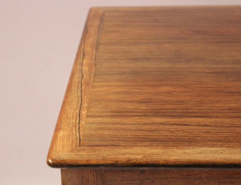 Mid-20th Century Coffee Table in Rosewood by Ole Wanscher and A. J. Iversen, 1960s For Sale