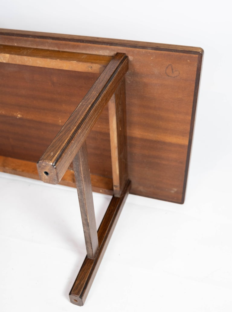 Coffee Table in Rosewood Designed by Edmund Jørgensen and from the 1960s For Sale 4