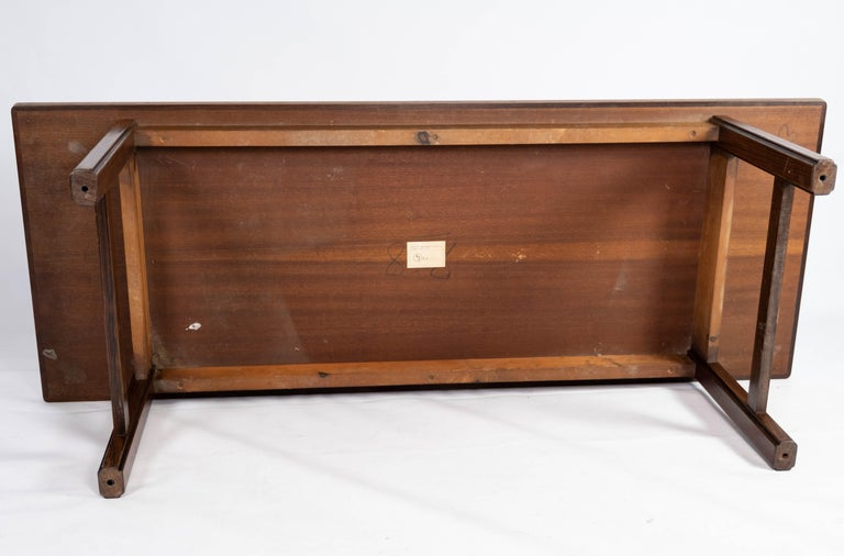 Coffee Table in Rosewood Designed by Edmund Jørgensen and from the 1960s For Sale 6