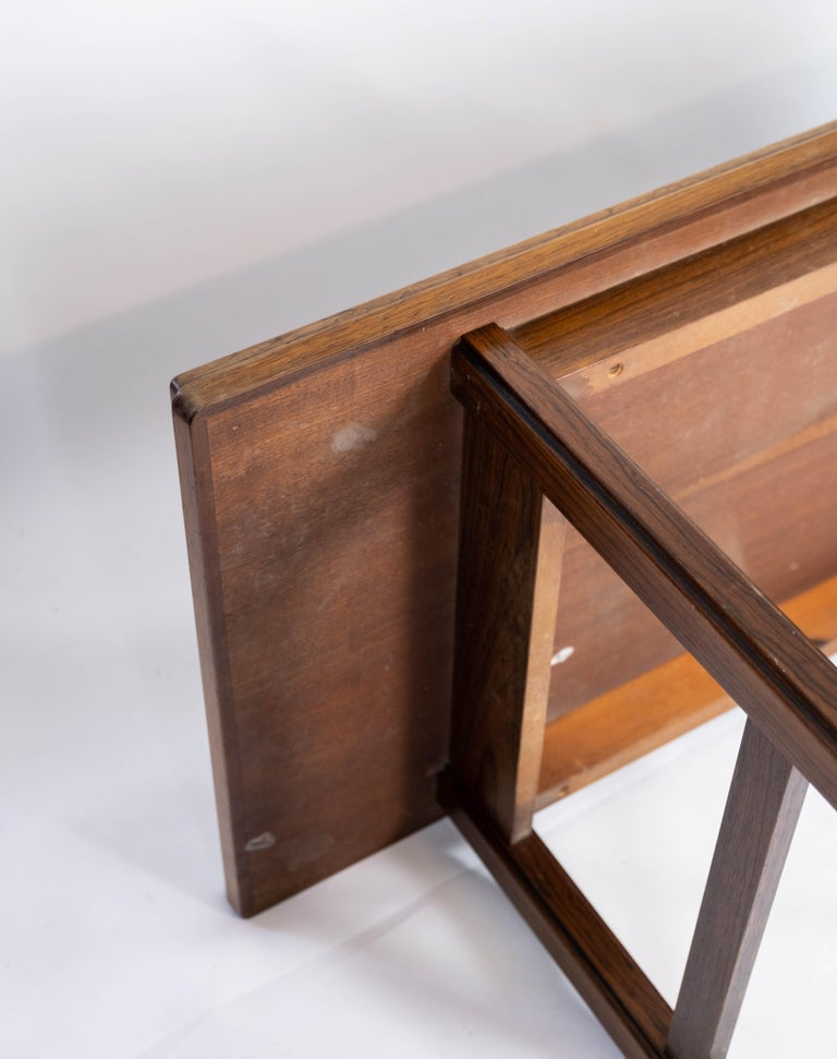 Coffee Table in Rosewood Designed by Edmund Jørgensen and from the 1960s For Sale 7