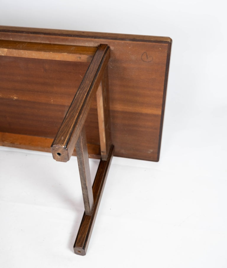 Coffee Table in Rosewood Designed by Edmund Jørgensen and from the 1960s For Sale 8