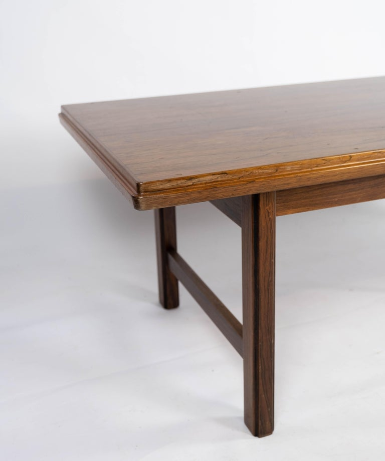 Danish Coffee Table in Rosewood Designed by Edmund Jørgensen and from the 1960s For Sale